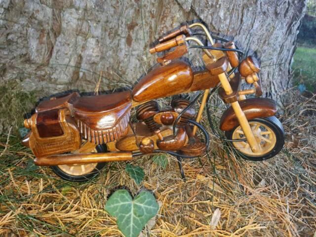 Wooden motorbike models #6 | in Ballymoney, County Antrim | Gumtree