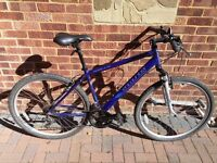 """Hybrid Bike - Apollo Encounter, 18 Speed, 19"""" frame, front suspension forks. Under one year old."""
