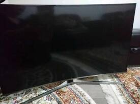"Samsung curved UHD tv 6 series 49"" 125cm"