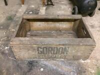 2 very old crates