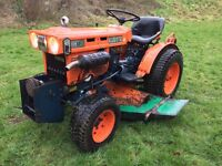 Kubota B5100 2WD Compact Tractor with 4ft Underdeck Mower (other Attachments available)