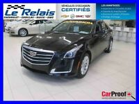 2015 Cadillac CTS SEDAN *** AWD, ULTRAVIEW, COMME NEUV