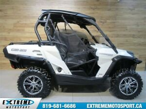 2014 Can-Am Commander 1000 XT Limited EPS  62,10$/SEMAINE