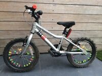 Ridgeback MX16 kids / boys / girls bike bicycle in Silver