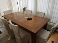 6 Dining Chairs, No Table