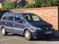 Vauxhall Zafira 1.8..7 Seater MPV