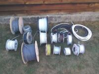 All sorts of wire going cheap