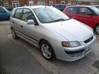 MITSUBISHI SPACE STAR 1.6 Equippe 5dr (silver) 2005