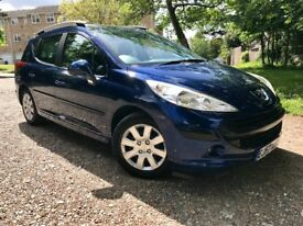 PEUGEOT 207 SW-LOW MILEAGE-PANO ROOF