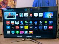 "Samsung 48"" Smart LED 3D HD Tv. Series 6."