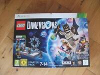 Lego dimensions xbox 360 starter pack and accessories