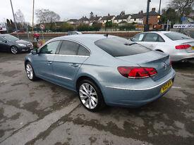 2013 VW CC GT BLUEMOTION TECHN TDI S,A ONLY 19K MILEAGE DRIVE LIKE NEW CAR 12M MOT 6 M WARRANTY
