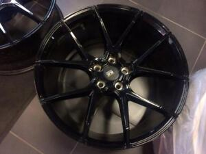 Savini Black Di Forza BM14 Wheels for Mercedes