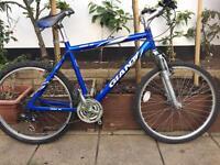 "Giant rock se Hybrid bike. 21"" Frame Large. 26"" Wheels. Fully Working"