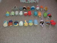 28 Tsum Tsum soft toys