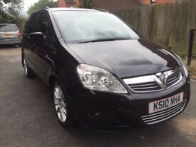 2010 60 VAUXHALL ZAFIRA 1.7 Diesel Energy 7 Seater Low Milleage