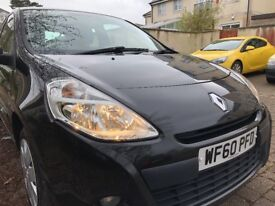 Renault Clio 1.2 16v (petrol) Extreme 3dr Pearl Black - Immaculate Condition Low Milage
