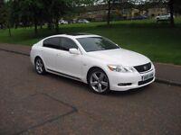 Rare 2005 Lexus GS300 GS 300 SE-L Pearl White Excellent condition, FSH MOT`d till March 2018