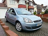 2006 Ford Fiesta 1.25 Style [Climate] 3dr, Low Mileage, Full Service History, 2 Keys, Full HPI Clear