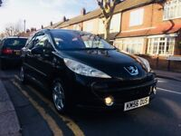 MINT 2007 PEUGEOT 207 WITH FULL MAIN DEALER/SPECIALISTS HISTORY/TAXED-MOT TILL AUG 2018 AND INSURED!