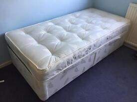 Airsprung single bed with mattress NEW