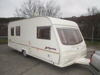 5 berth family caravan for sale with awning and everything else you need to start touring