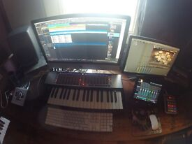 Production Recording Studio Share in Finsbury park fully loaded!