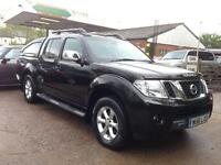 Nissan Navara Double Cab Pick Up Tekna 2.5dCi 190 4WD (black) 2011