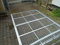 SILVER DOUBLE BED FRAME at Haven Trust's charity shop at 247 Radford Road, NG7 5GU