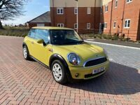 Mini, One, HATCHBACK, 2010, Manual, 3 doors, Fresh MOT, Full Service History From Main Dealer,