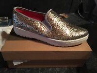 Glitter pumps shoes size 6