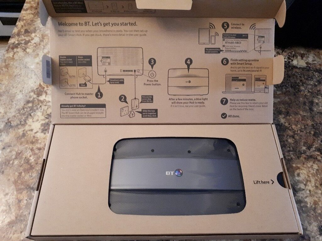 BT Homehub 6 - For cable or fibre optic broadband - NEW - £40 | in Dunoon,  Argyll and Bute | Gumtree