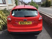 Red Ford Focus, 63 plate, full service history, immaculate conditiion