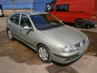 ***2001 Renault Megane EXPRESSION AUTO **MOT MAY 2019**( automatic )