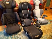 Graco booster seats and Britax