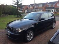 BMW 116i Black