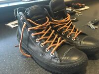 CONVERSE ALL STARS LEATHER BOOTS