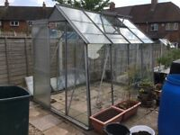 Greenhouse approx 8ft x 6ft