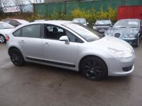 Citroen C4 Exclusive HDI,5 dr hatchback,FSH,full MOT,clean tidy car,runs and drives nicely,LD55XLK