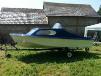 Shetland 535 Boat with 40hp Mariner Outboard & Road Trailor - Great for Fishing & On the Water Fun