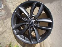 "17"" alloy wheel - Mini 7J X 17 5-star Double Spoke R 124 style"