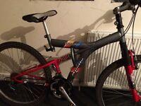 Apollo outrage duel suspension mountain bike