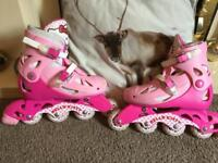 FREE! Adjustable size 13-3 hello kitty roller blades skates