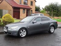 04 plate facelift BMW 525i sport 4door alloys 4 new pirelli tyres full black leather sat nav
