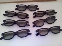 3D glasses (7 sets)