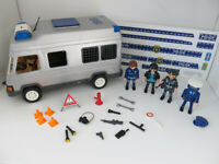 PLAYMOBIL Police Riot Van 4023 with extras.