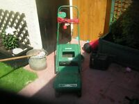 qualcast electric cylinder mower