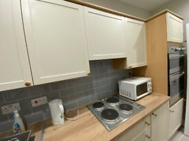 Reserved-Bridgend 1 bedroom, 1st floor flat, newly decorated, furnished/unfurni