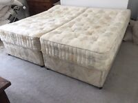 FREE SUPER KING DOUBLE BED OR SEPARATES INTO TWO SINGLES