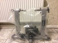 NEW PEDAL PRO TURBO TRAINER IN PACKING WITH FRONT WHEEL REST